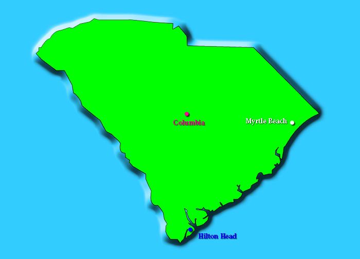 Columbia South Carolina To Myrtle Beach South Carolina